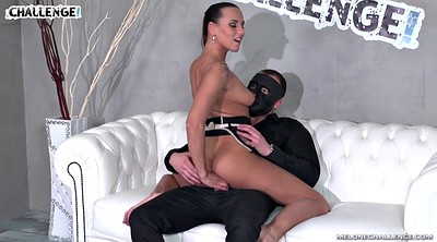 Mask, Ass fucked, Very, Casting czech