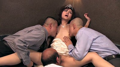 Japanese beauty, Japanese gangbang