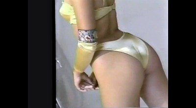 Vintage, Masturbation girl, Butt