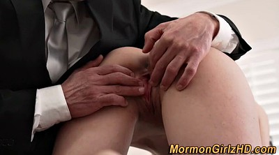 Mormon, Young pussy, Rubbing