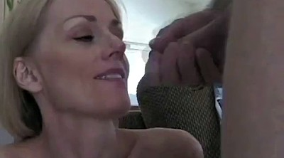 Moms, Sexy mom, Mom cum, Cum on face, Spraying, Cuckold mom