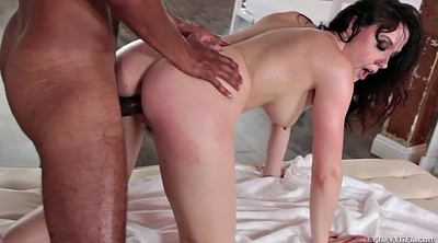 Black anal, Missionary, Oil ass, Chanel, Inside, Black hair