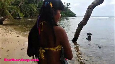 Deepthroat, Beach, Heather, Teen thai