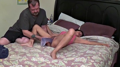 Asian wife, Monster dildo