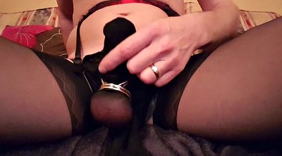 Nylon, Crossdresser, Crossdressing, Nylon handjob, Handjob nylon