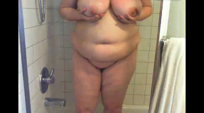 Bath, Bathing, Bbw shower, Big boobs bbw