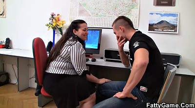Therapy, Plump, In office, Bbw office