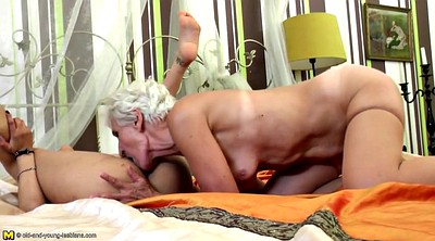 Mature lesbian, Old and young, Hairy lesbians