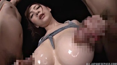 Asian, Oil, Japanese threesome, Japanese oil, Japanese suck, Japanese double