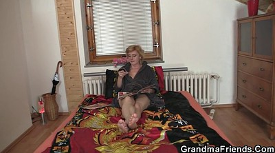 Thin, Old granny, Gay mature