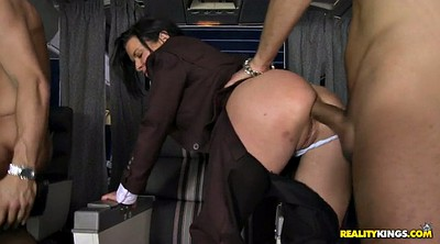 Fat ass, Veronica avluv, Foursome, Bbw sex