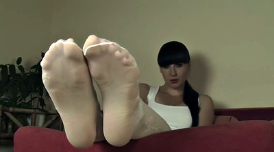 Mistress, Feet nylon
