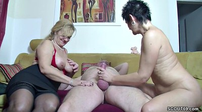 Milf, Female, Casting threesome
