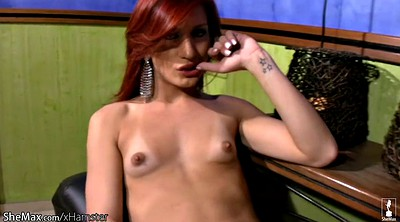 Red hair, Full, Red, Puffy nipples, Beautiful shemale, Puffy