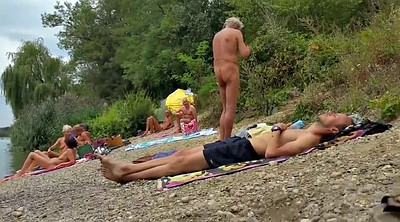 Grandpa, Nudist beach