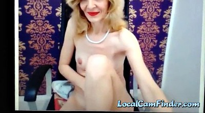 Mature webcam, Mature solo, Nice tit