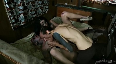 Fuck throat, Zombie, Two man