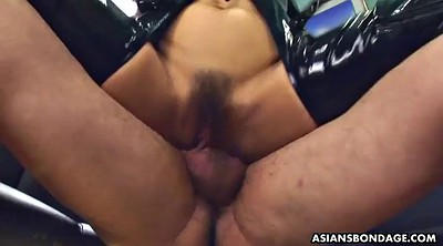 Latex, Face fuck, Japanese bdsm, Japanese ass