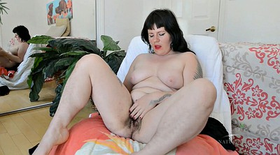 Hairy chubby, Chubby mature solo, Big butt solo
