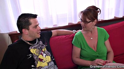 Granny anal, Anal granny, Double penetration