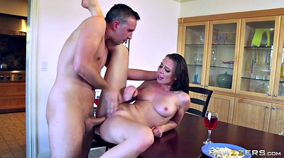 Brazzers, Daughter anal, Creampie daughter