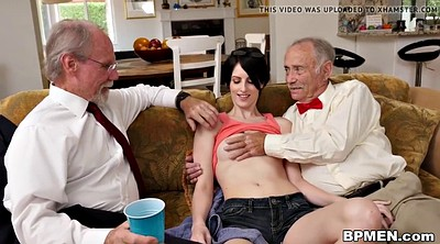 Old gay, Old anal, Granny threesome