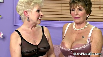 Mature lesbian, Matures, Short hair, Mature casting, Interview