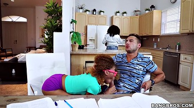Teens, Black mom, Tutor, Ebony mom, Mom sucks, Teen mom