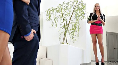 Agent, Kinky, Wife fucked, Estate agent