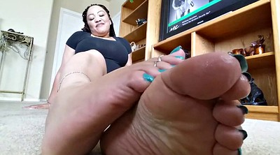 Feet pov, Ebony feet