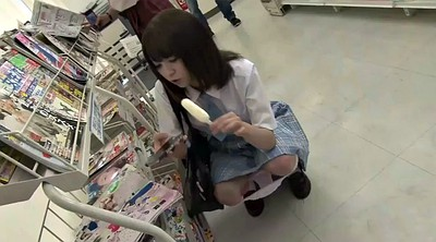 Shy, Japanese tits, Store, Japanese schoolgirl