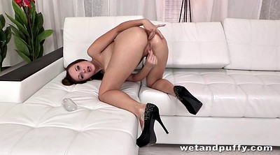Rubber, Young girl, Big butt solo
