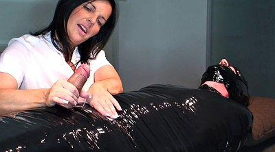 Milking handjob, Helpless