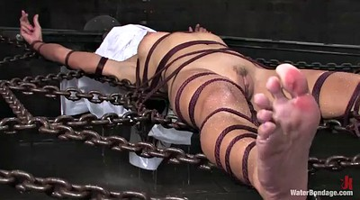 Water, Water bdsm, Rope, Sex torture