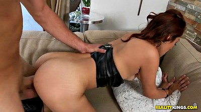 Boots, Redhead, Leather, Balls