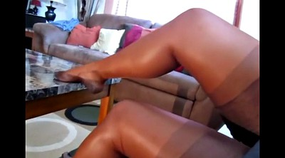 Pantyhose, Foot compilation, Pantyhose foot, Women, Gay foot
