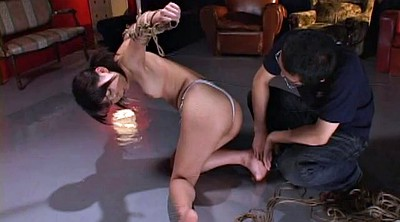 Nude, Bondage asian, Rope