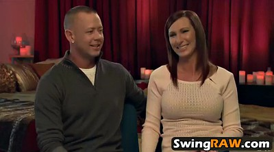 Swingers, Funny, Milf swinger, Together, Young couple, Interracial swingers