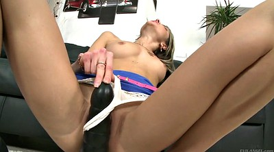 Natural, Anal dildo, Gina gerson, Skinny anal