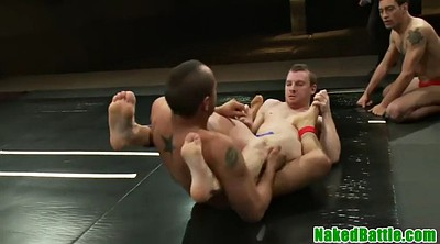 Wrestling, Licking ass, Fight