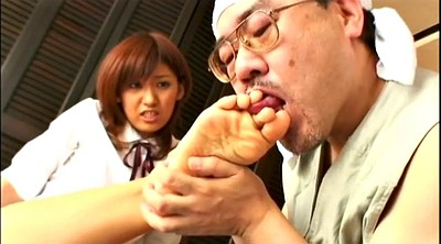 Asian feet, Asian foot, Handjob feet