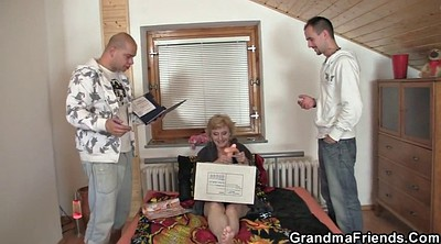 Old woman, Mature gay, Thin, Granny gay, Delivery