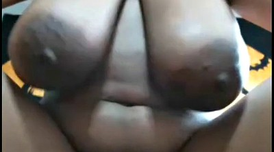 Huge boobs, Web cam