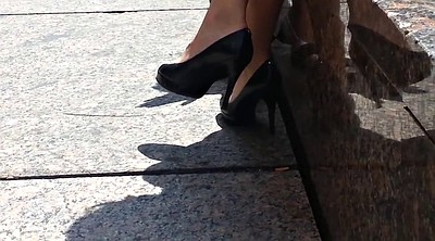 Heels, High heels, Shoes, Shoe, Candid feet