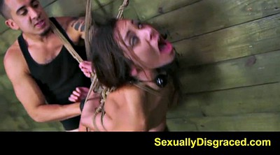 Slave, Tied, Slave girl, Tie, Spank girls, Hard spanking