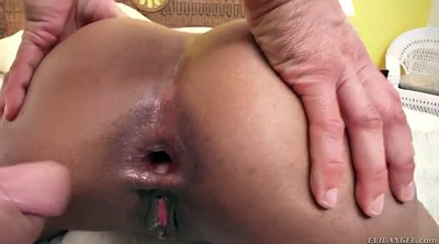 anal toy , Big white ass, Ass gape