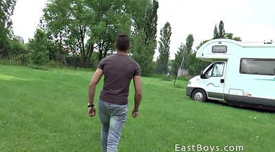 Handjob, Handjob massage, Young boy, Caravan