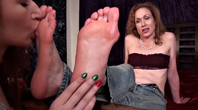 Aunt, Femdom feet, Mature foot, Sole, Mature feet, Old feet