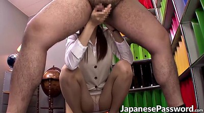 Ass licking, Office lady, Asian office