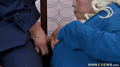 Elevator, Bridgette b, Bridgette, Tits sucking